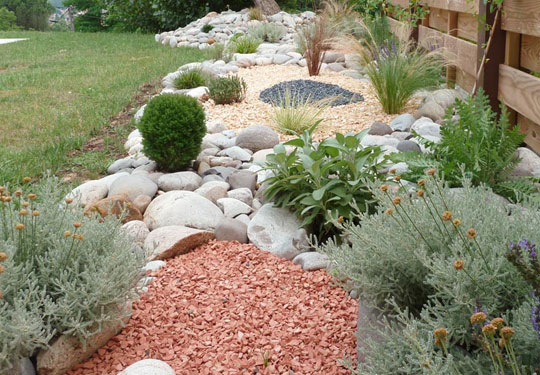 R alisation paysag re de burgniard paysage jardin for Creation jardin sec